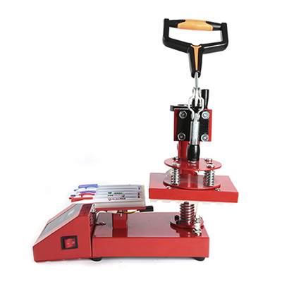 Pen Heat Press Machine Red