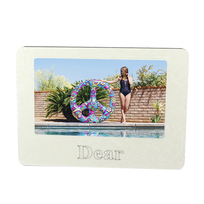 Swan Crystal MDF Photo Frame