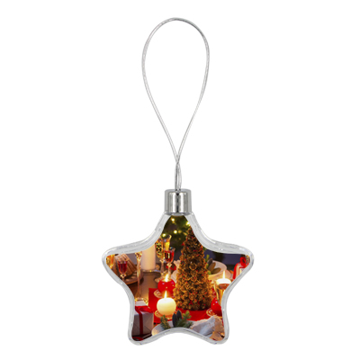 Star Christmas Ornament 8.5cm