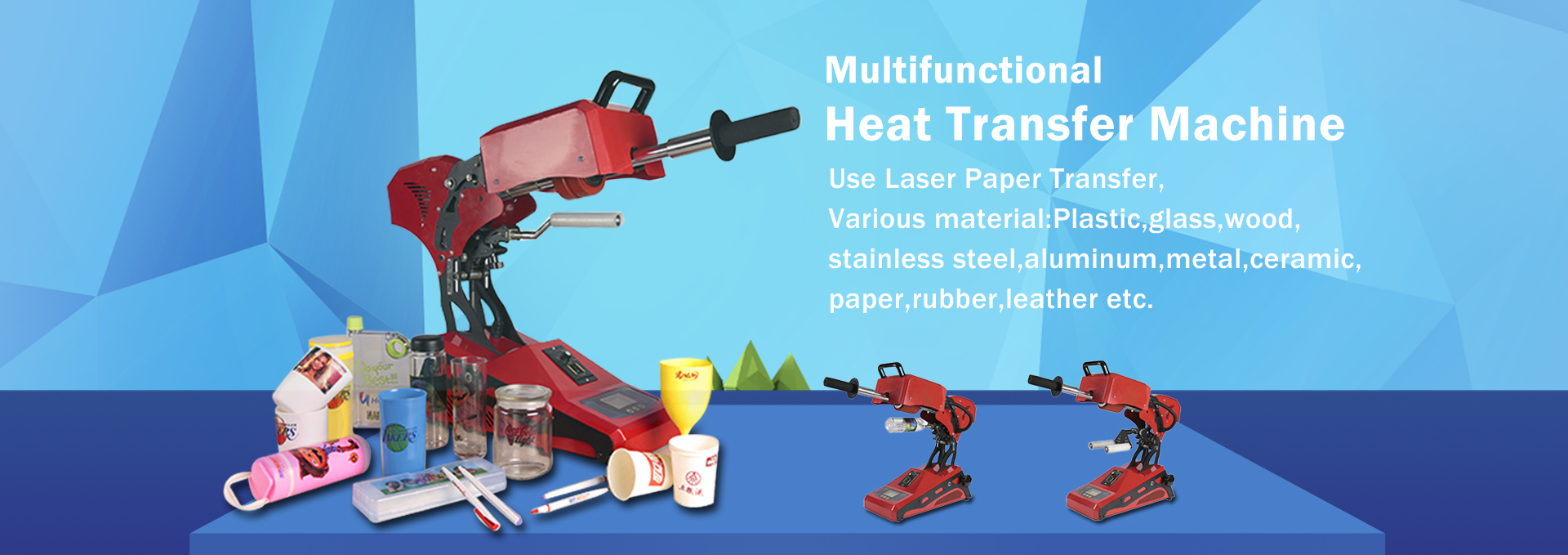 Multifunctional Cup Heat Transfer Press Machine