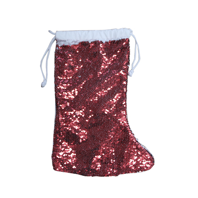 Magic Sequin Sublimation Christmas Sock