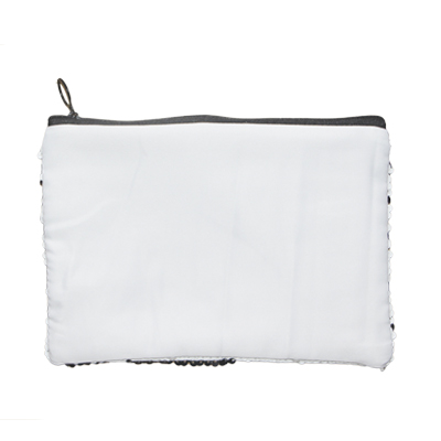 Sublimation Blank Sequin Cosmetic Bag