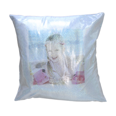 Blank Glitter  Pillow Cover