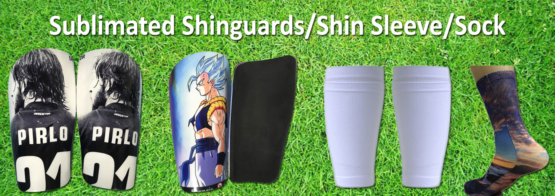Sublimation Shin Guards