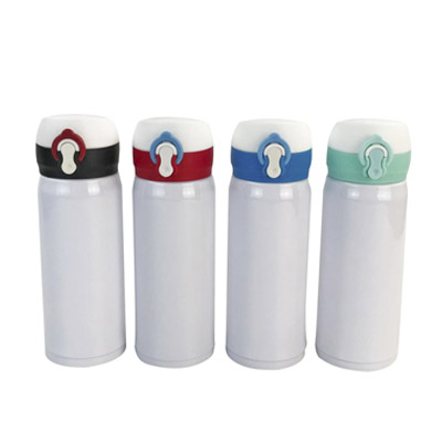 Wholesale 350ml White Sublimation Stainless Steel Thermal Bottle