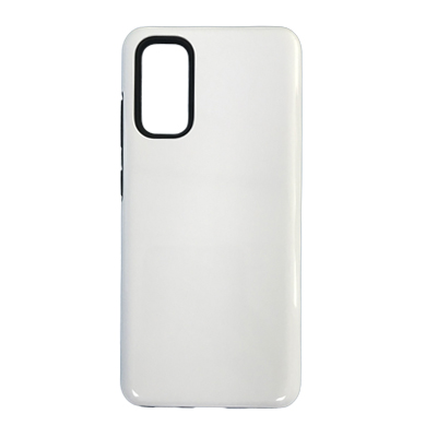 Samsung Galaxy S20  2 In 1 (TPU+PC) 3D Coating Phone Case