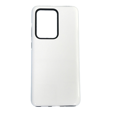 Samsung Galaxy S20 Ultra 2 In 1 (TPU+PC) 3D Coating Phone Case