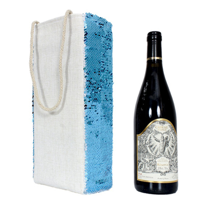 Sequin Wine Bag