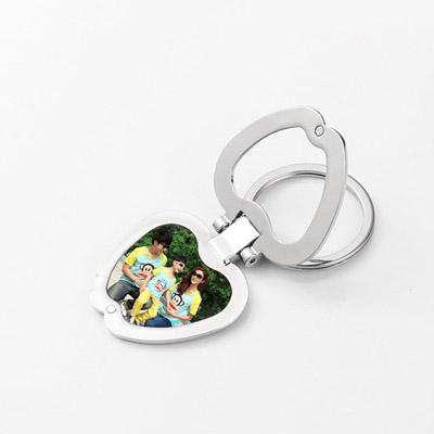 Sublimation Keychain  with Metal insert