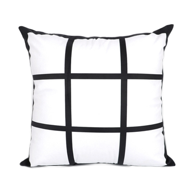 9 panel sublimation pillow case