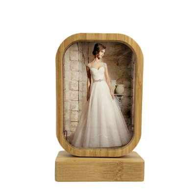 Sublimation Bamboo Wood Photo Frame