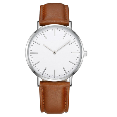 Sublimation Watch with PU Leather Strap