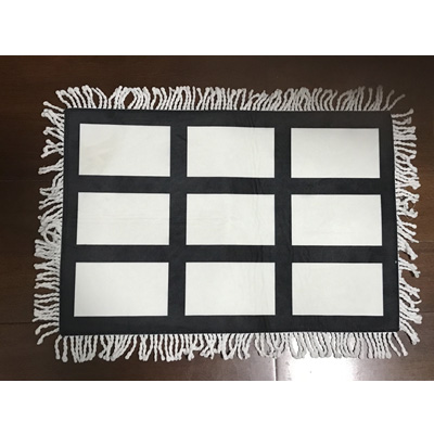9 panel sublimation floor mat door mat rugs